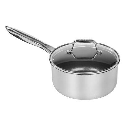 Aluminum Core Saucepan with Lid Size: 3 QT