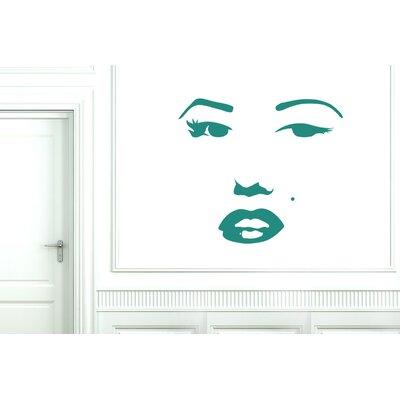 Cut It Out Wall Stickers Marilyn Monroe Face Wall Sticker