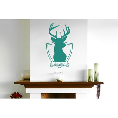 Cut It Out Wall Stickers Deer Diary Wall Sticker