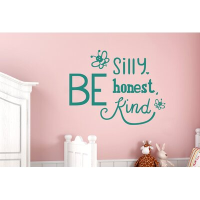 Cut It Out Wall Stickers Be Silly Nice Kind Wall Sticker