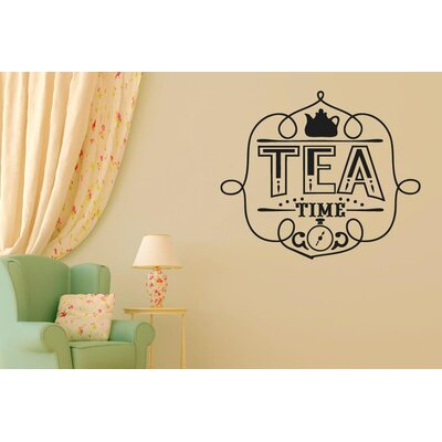 Cut It Out Wall Stickers It's Tea Time Wall Sticker
