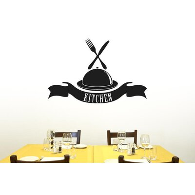 Cut It Out Wall Stickers Kitchen Platter and Banner Wall Sticker