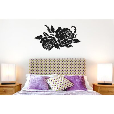 Cut It Out Wall Stickers Two Roses Wall Sticker