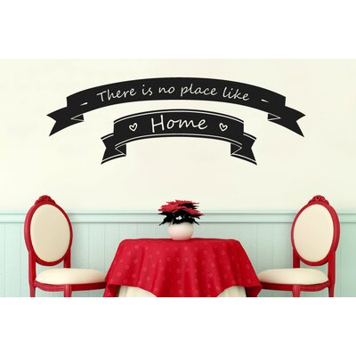 Cut It Out Wall Stickers There Is No Place Like Home In Banners Wall Sticker