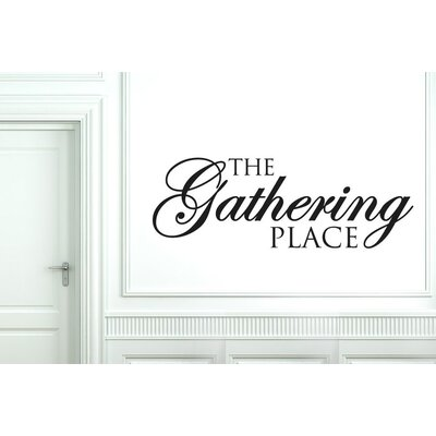 Cut It Out Wall Stickers The Gathering Place Wall Sticker