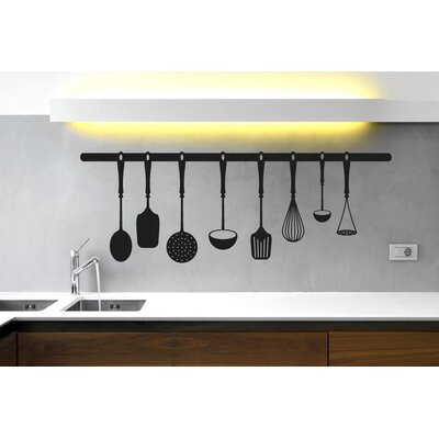 Cut It Out Wall Stickers Kitchen Instruments Wall Sticker