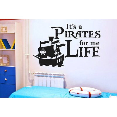 Cut It Out Wall Stickers It's A Pirates Life For Me Wall Sticker
