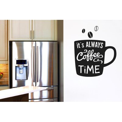 Cut It Out Wall Stickers It's Always Coffee Time Wall Sticker
