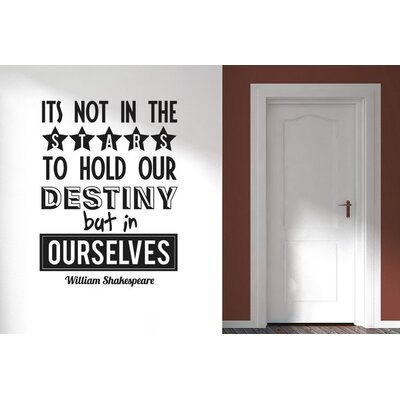 Cut It Out Wall Stickers William Shakespeare Wall Sticker