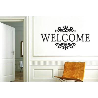 Cut It Out Wall Stickers Welcome Sign Wall Sticker