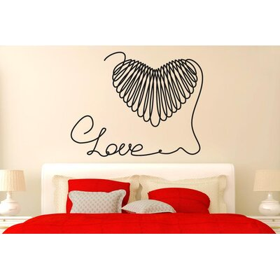 Cut It Out Wall Stickers Love String Forming A Heart Wall Sticker