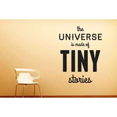 Cut It Out Wall Stickers The Universe Is Made of Tiny Stories Wall Sticker