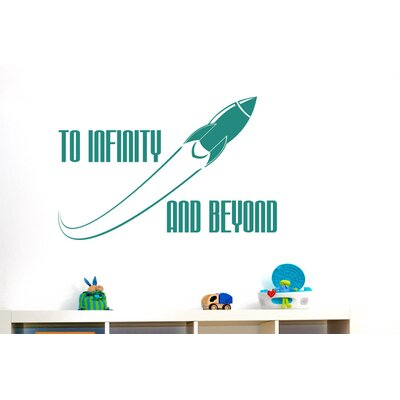 Cut It Out Wall Stickers To Infinity and Beyond Wall Sticker