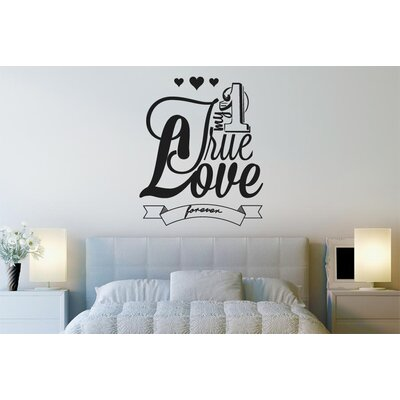 Cut It Out Wall Stickers My One True Love Forever Wall Sticker