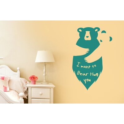 Cut It Out Wall Stickers I Want To Bear Hug Wall Sticker