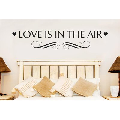 Cut It Out Wall Stickers Love Is In The Air Wall Sticker
