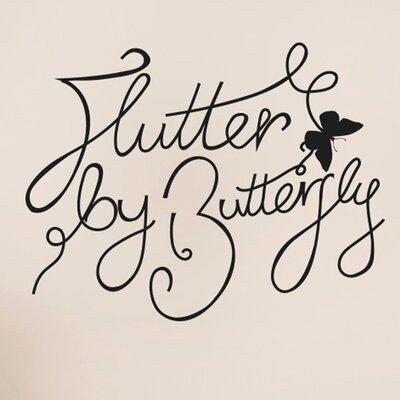 Cut It Out Wall Stickers Flutter by Butterfly Wall Sticker
