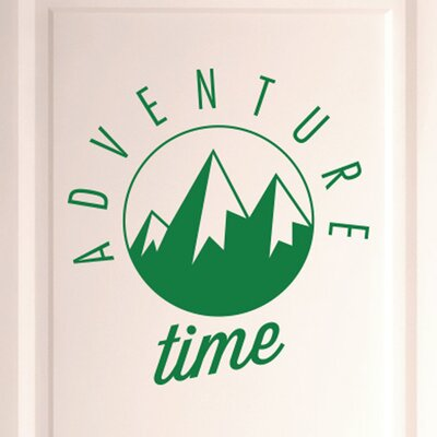 Cut It Out Wall Stickers Adventure Time Door Room Wall Sticker