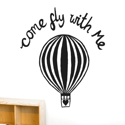 Cut It Out Wall Stickers Come Fly with Me Wall Sticker