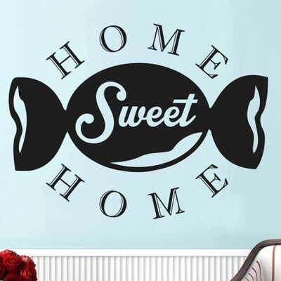 Cut It Out Wall Stickers Confectionery Home Sweet Home Wall Sticker
