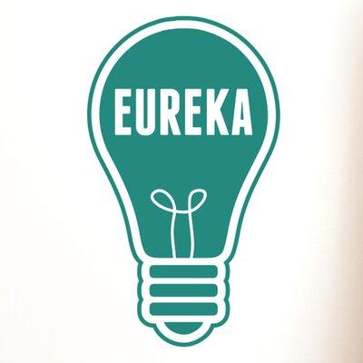 Cut It Out Wall Stickers Eureka Light Bulb Wall Sticker