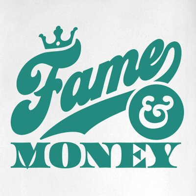 Cut It Out Wall Stickers Fame and Money Door Room Wall Sticker