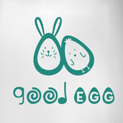 Cut It Out Wall Stickers Good Egg Door Room Wall Sticker