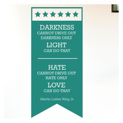 Cut It Out Wall Stickers Martin Luther King Jr Wall Sticker
