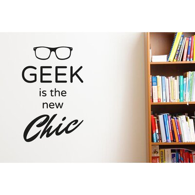 Cut It Out Wall Stickers Geek Is The New Chic Wall Sticker