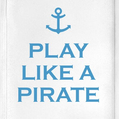 Cut It Out Wall Stickers Play Like a Pirate Door Room Wall Sticker