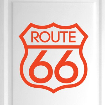 Cut It Out Wall Stickers Route 66 Door Room Wall Sticker