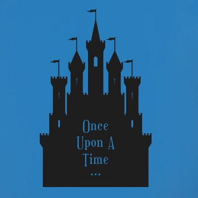 Cut It Out Wall Stickers Once Upon A Time Fairytale Castle Wall Sticker