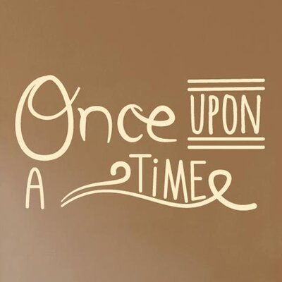 Cut It Out Wall Stickers Once Upon A Time Wall Sticker