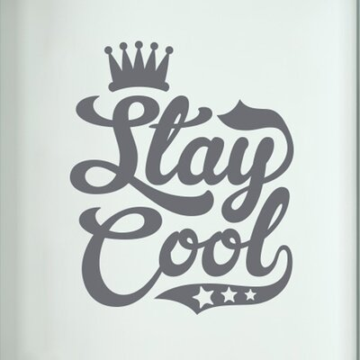Cut It Out Wall Stickers Stay Cool Door Room Wall Sticker