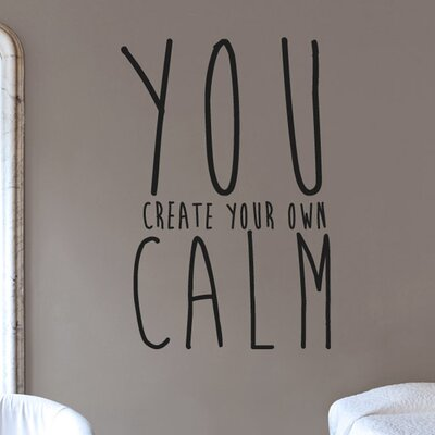 Cut It Out Wall Stickers Create Your Own Calm Wall Sticker