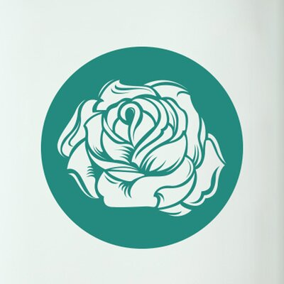 Cut It Out Wall Stickers Sweet Rose Door Room Wall Sticker