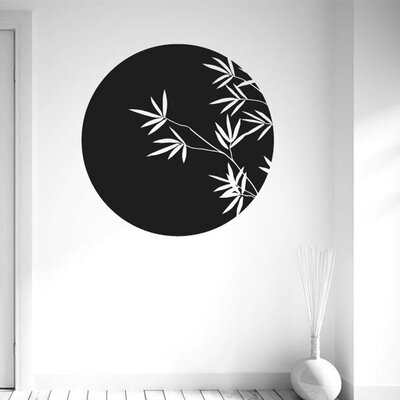 Cut It Out Wall Stickers Bamboo Within Circle Wall Sticker