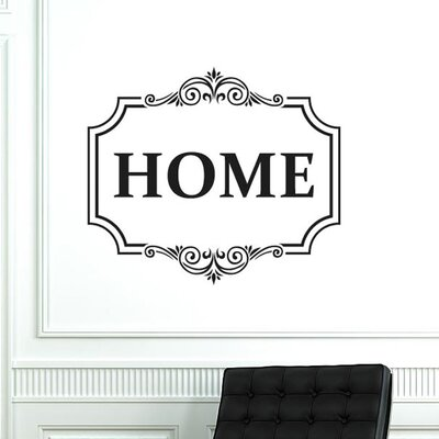 Cut It Out Wall Stickers Classic Home Sign Wall Sticker