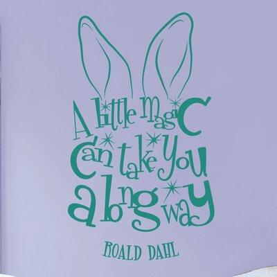 Cut It Out Wall Stickers Roald Dahl Wall Sticker