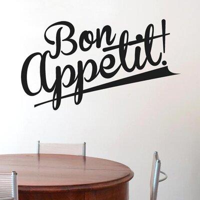 Cut It Out Wall Stickers Bon Appetit Wall Sticker