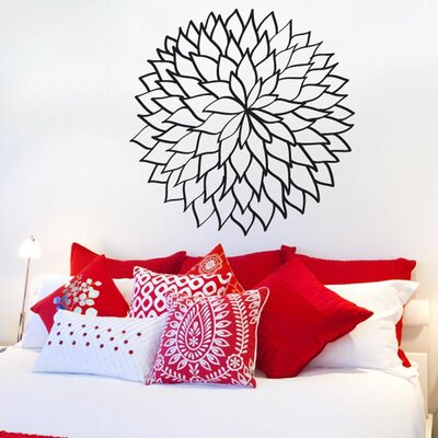 Cut It Out Wall Stickers Lower Outlined Leafs Wall Sticker