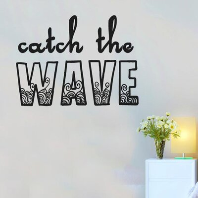 Cut It Out Wall Stickers Catch The Wave Wall Sticker
