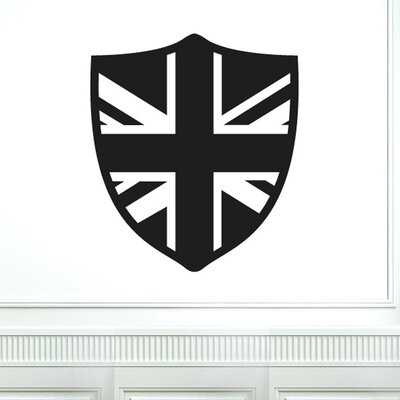 Cut It Out Wall Stickers British Shield Wall Sticker
