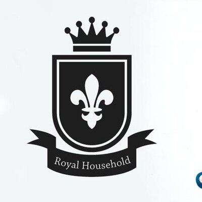 Cut It Out Wall Stickers Royal Household Home Sign Wall Sticker
