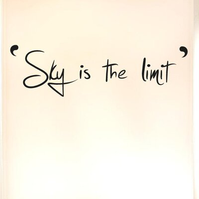 Cut It Out Wall Stickers Sky Is the Limit Wall Sticker