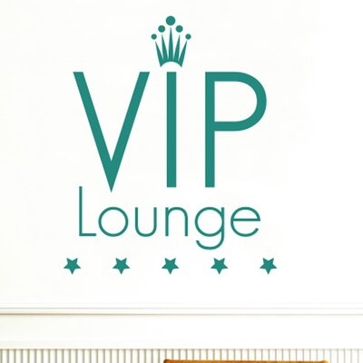 Cut It Out Wall Stickers Vip Lounge Five Star Wall Sticker
