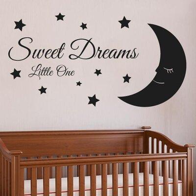 Cut It Out Wall Stickers Sweet Dreams Little One Wall Sticker