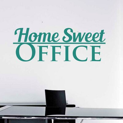 Cut It Out Wall Stickers Home Sweet Office Wall Sticker