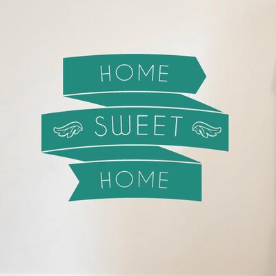 Cut It Out Wall Stickers Home Sweet Home In Banners Wall Sticker