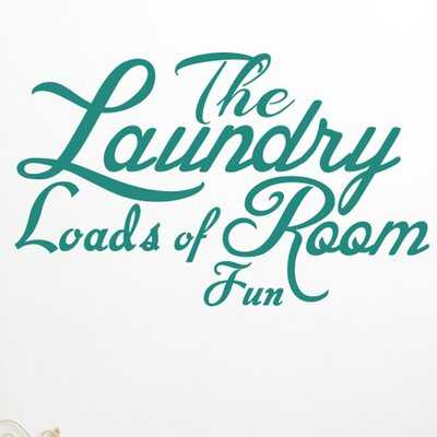 Cut It Out Wall Stickers The Laundry Room Loads Of Fun Wall Sticker